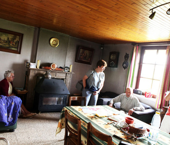 Martine Cloet et son équipe – Soins à domicile
